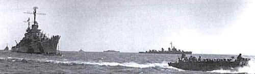 USS appraoching Tokyo Bay.jpg (17349 bytes)