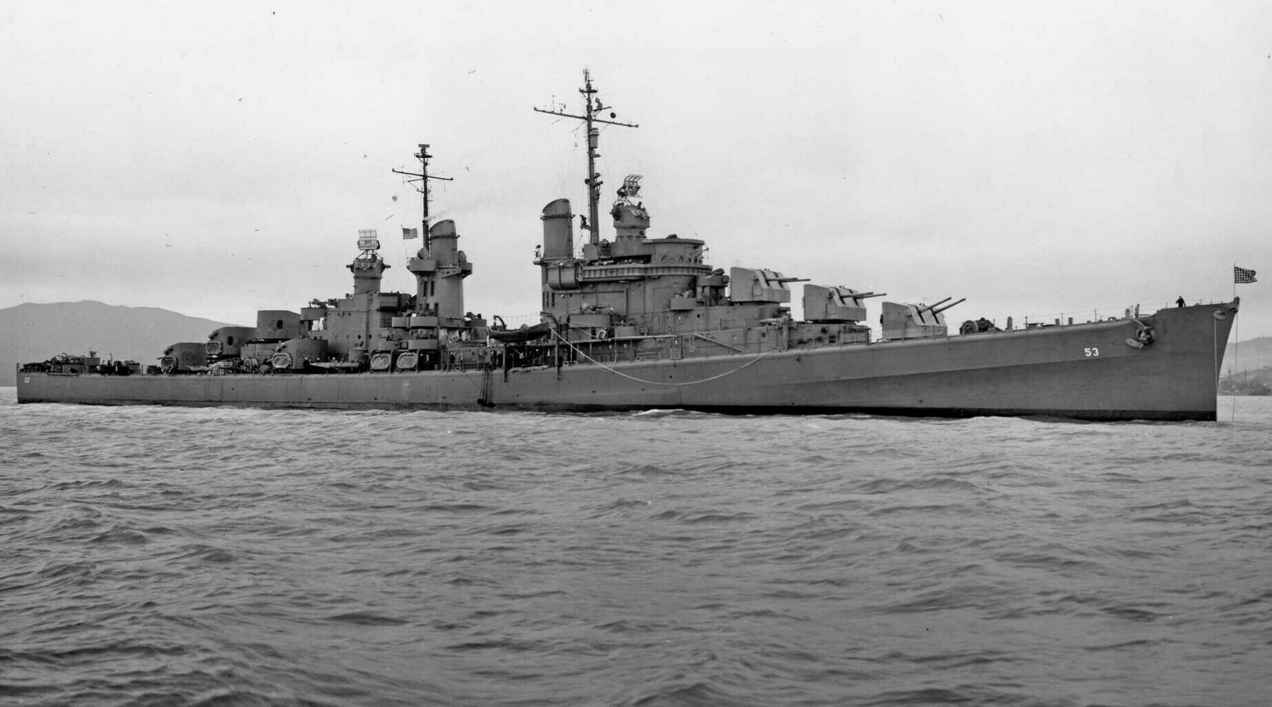 USS SAN DIEGO: The Unbeatable Ship That Nobody Ever Heard Of